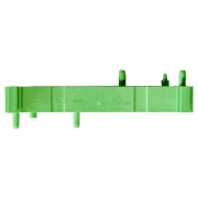 DIN-rail PCB Holder, Base 72x11.25mm