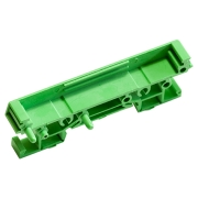 DIN-rail PCB Holder, End with Foot 72x11.25mm