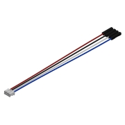 "4 Wires 2.00mm 4x0.1"", F/F, 6"""