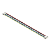 5 Wires 2.00mm, 5F/5F, 12""