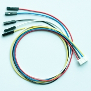 "5 Wires 2.00mm 5x0.1"", F/F, 12"""