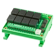 I2C Bus High Current Relay , 12v, PCF8574A
