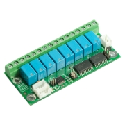 I2C, PCF8574A, 5V relay, small