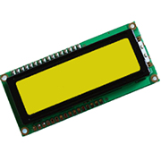 LCD 16X2 Yellow-Green Backlight Parallel Cable 20cm 16IDC