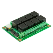 I2C Relay 24V 10A PCF8574