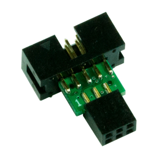 10-pin to 6-pin AVR ISP - Click Image to Close